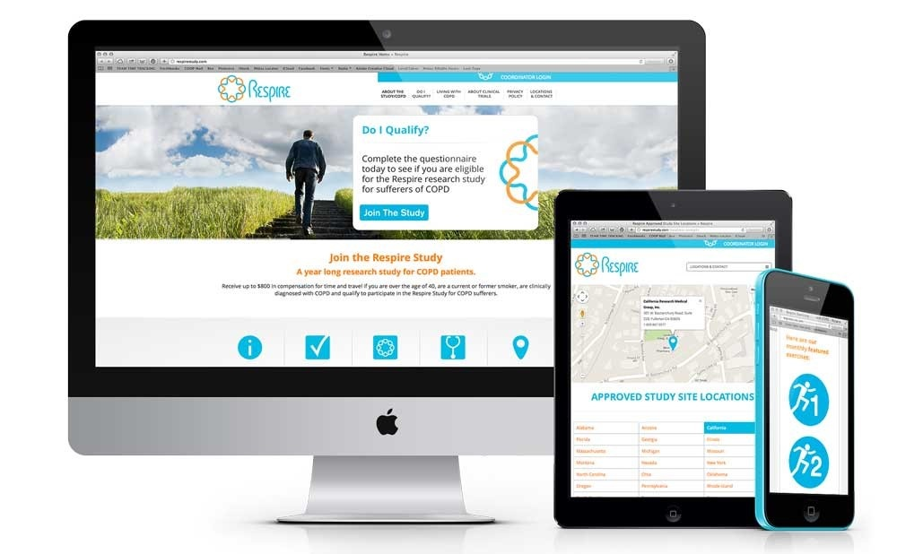 Clinical Trial Study Branding for Digital and Web Media