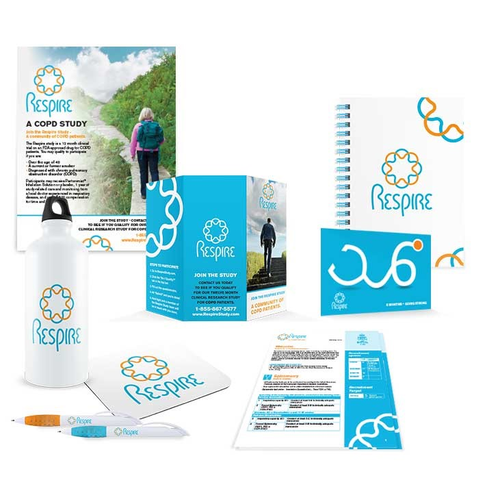 Clinical Trial Study Material Branding